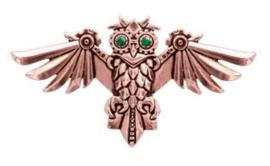 Engineerium Anne Stokes Aviamore Owl nekketting