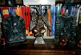 Baphomet - bronze - 24 cm high