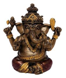 Ganesha zittend 6.5 cm hoog