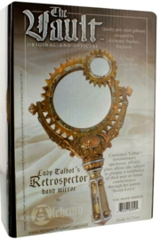 Alchemy of England - Lady Talbot's Retrospector - steampunk handspiegel - 23 cm lang