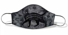 Alchemy England - Gezichtsmasker - Ouija Sublima - Zwarte Kat met Spirit Board