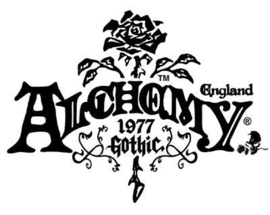 Alchemy Gothic ketting - Nevermore Cross