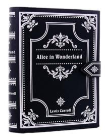 Restyle handtas schoudertas Alice in Wonderland boek - 30 cm lang