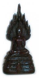 Thai Boeddha met 7 nagha`s 22 cm