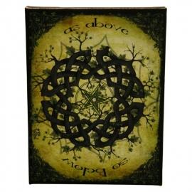 Celtic Knot - wandbord van Dr. Wierd - 25 x 19 cm