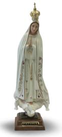 Maria van Fatima - polystone beeld - 27 cm hoog