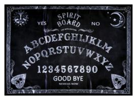 Altaarkleed Ouijabord Spiritbord (stoffen doek) - 50 x 70 cm