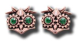 Anne Stokes Engineerium Steampunk oorbellen