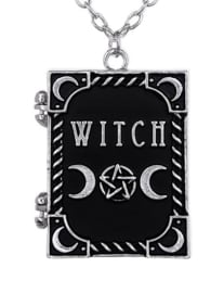 Restyle nekketting medaillion - Witch