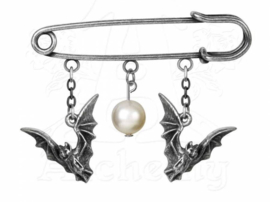 Alchemy Gothic - kilt pin / broche - Away from the Roost - 4.5 cm lang