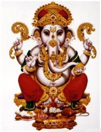 Kleine stickers Hindu Goden