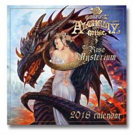 Alchemy Gothic kalender 2018 - The Rose Mysterium