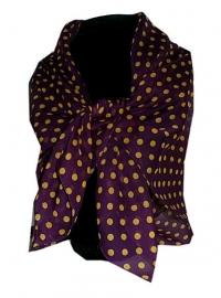 Bordeaux kleurige chiffon sjaal 75 x 75 cm