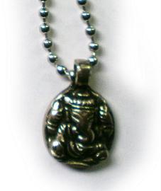 Ketting Ganesha 2 x 3 cm