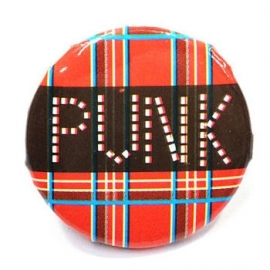 Retro button Punk 1