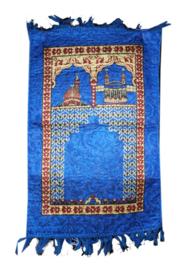 Kindergebedskleed 40 x 70 cm blauw