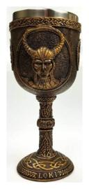 Kelk Noose Viking God Loki - 18 cm hoog