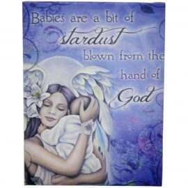 Babies - wall plaque by Jessica Galbreth - 25 x 19 cm