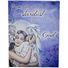 Babies - wandbord van Jessica Galbreth - 25 x 19 cm