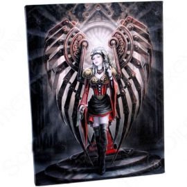 The Avenger - wall plaque by Anne Stokes - 25 x 19 cm