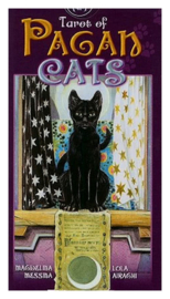Tarot of Pagan Cats - Magdelina Messina Lola Airaghi - 7 x 12 cm