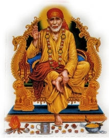 Sticker Sai Baba 1