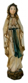 Virgin Mary Lourdes 19 cm