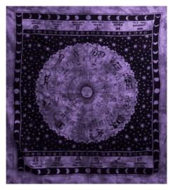 Bedspread Zodiac liliac 200 x 230 cm