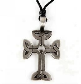 Pewter hanger Keltisch kruis 5