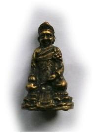 Minibeeld Thaise Boeddha 3 cm hoog