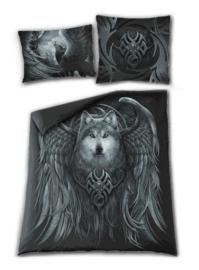 Spiral Direct dekbedovertrek - 2  persoons - Wolf Spirit - 200  x 200 cm