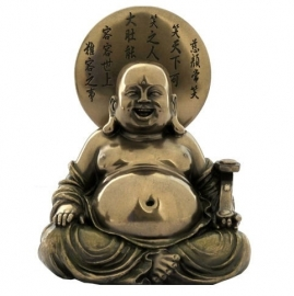 Happiness - happy buddha - 11 cm tall