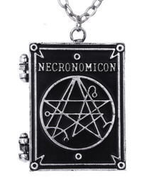 Restyle nekketting medaillion - Necronomican Book