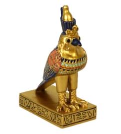 Horus goud 8 cm hoog