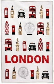 Theedoek ´London´