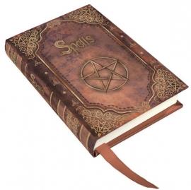 Book of spells - klein rood - 11 cm hoog