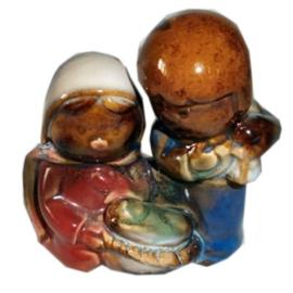 Heilige familie porselein klein 2