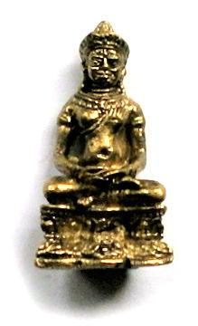 Minibeeld Thaise Boeddha 3.1 cm hoog