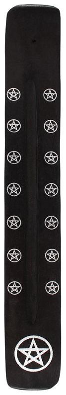Wierook asvanger zwart 26 cm lang Pentagram