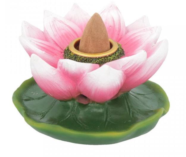 Lotus of Purity - backflow wierookbrander 7.7 cm