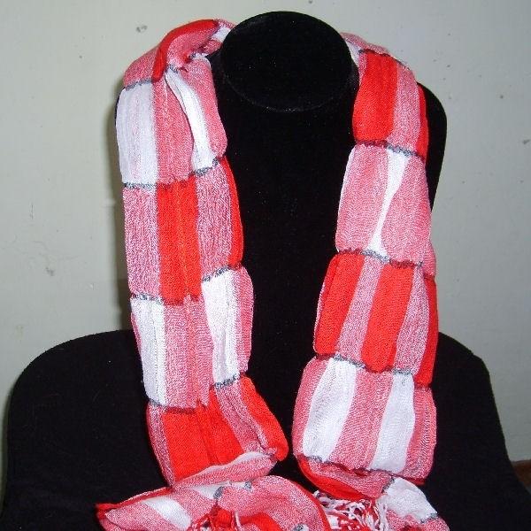 Acryl rood wit