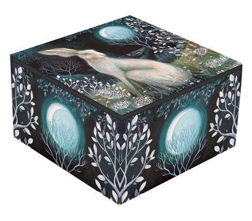 Mirror box  - Mystic Knight - design Amanda Clark