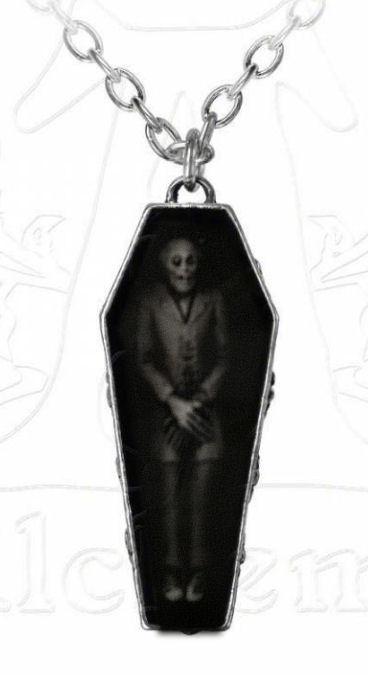 Alchemy Gothic doodskist vampieren ketting - Nosferatu's rest