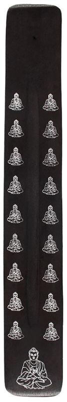 Wierook asvanger zwart 26 cm lang Boeddha