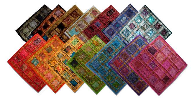 14 gekleurde indiase kussenhoezen lapjes dessin.jpg
