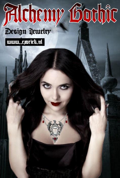 alchemy gothic girl met dracul ketting met kerkhof achtergrond 5.jpg