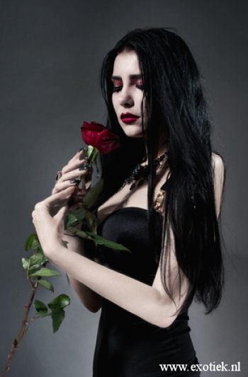 brunette met rode roos 2.jpg