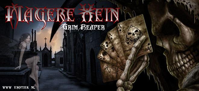 magere hein grim reaper in kerkhof met gothic fee bij zondsondergang.jpg