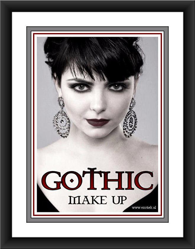 meisje gothic makeup ingelijst 2.jpg