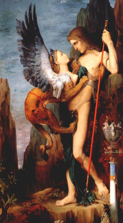 sphinx - oedepus and sphinx gustaf moreau.jpg